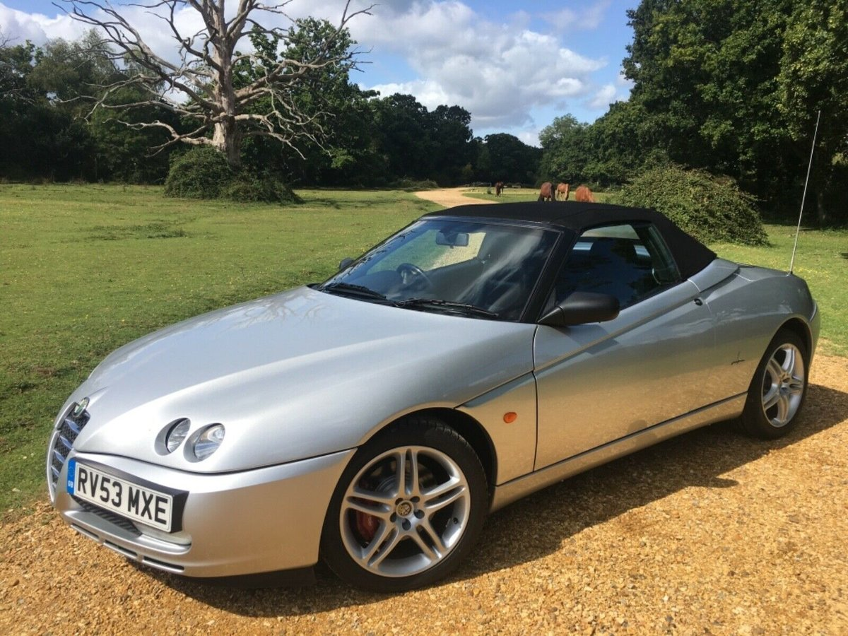 2003 Alfa Romeo 916 Spider 3.2 V6 - GTA Spec For Sale (picture 1 of 6)
