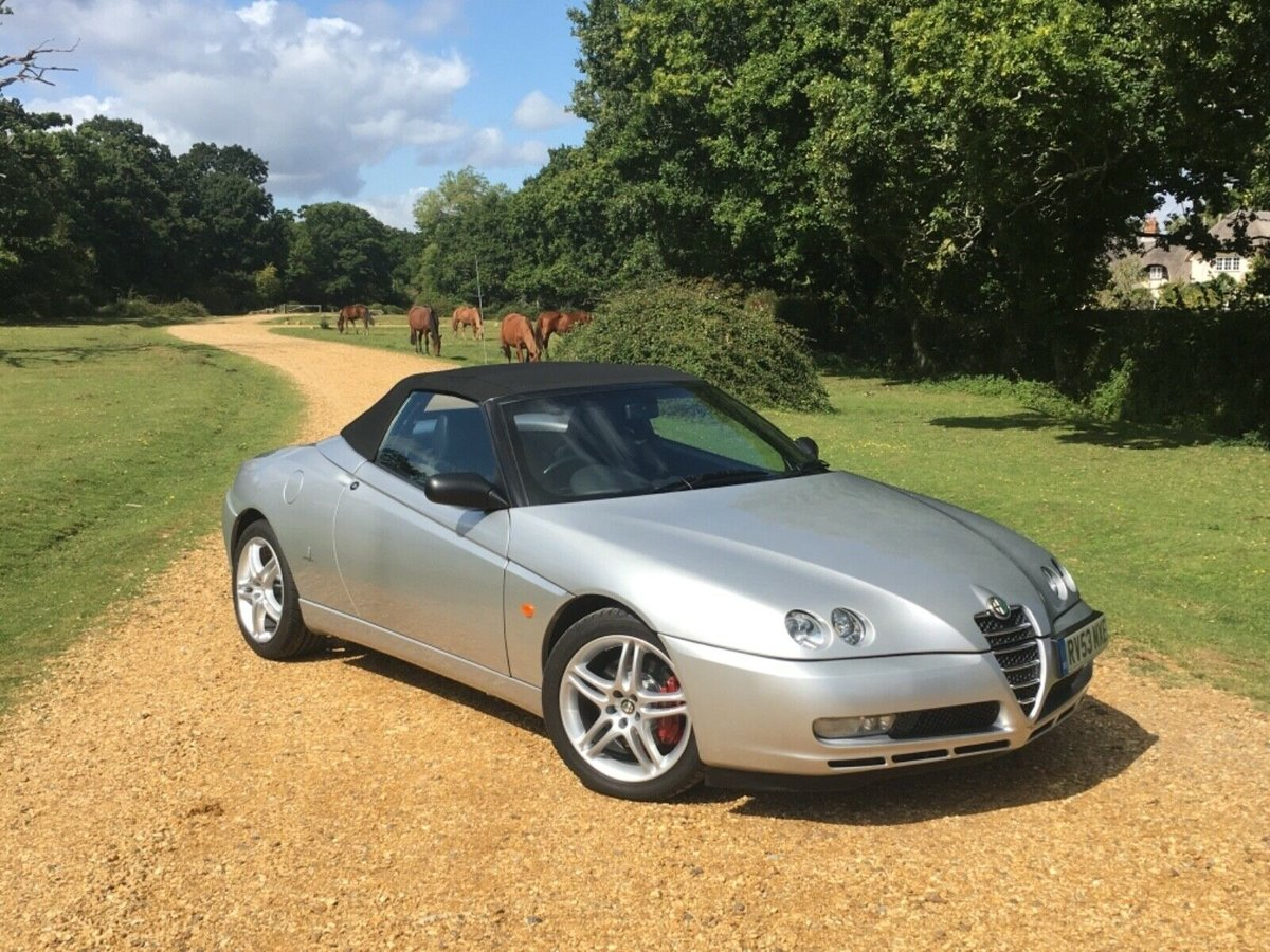 2003 Alfa Romeo 916 Spider 3.2 V6 - GTA Spec For Sale (picture 5 of 6)