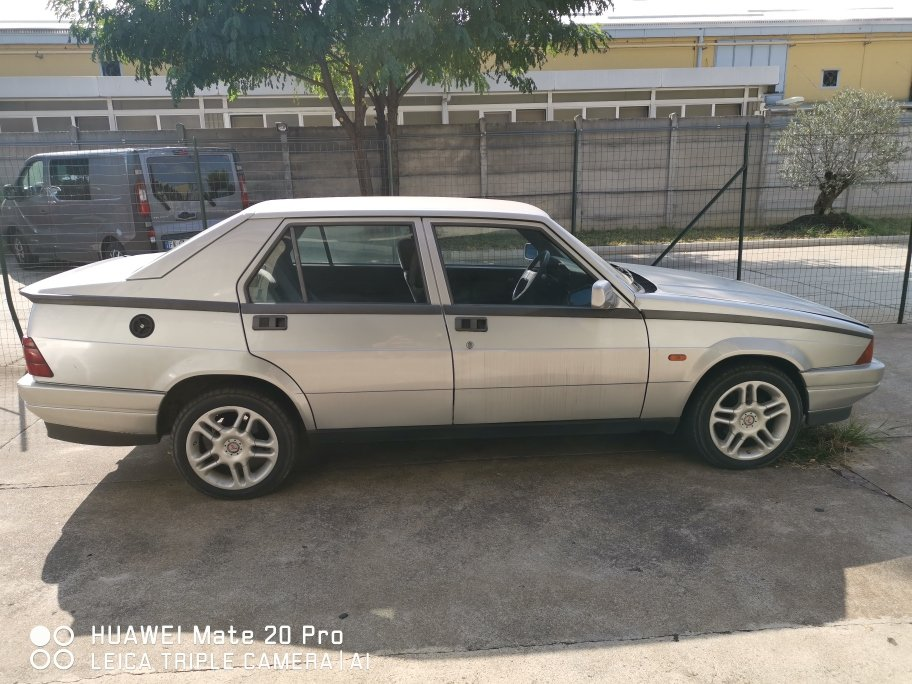 1992 CONSERVED ALFA 75 1600 CAT For Sale (picture 3 of 6)