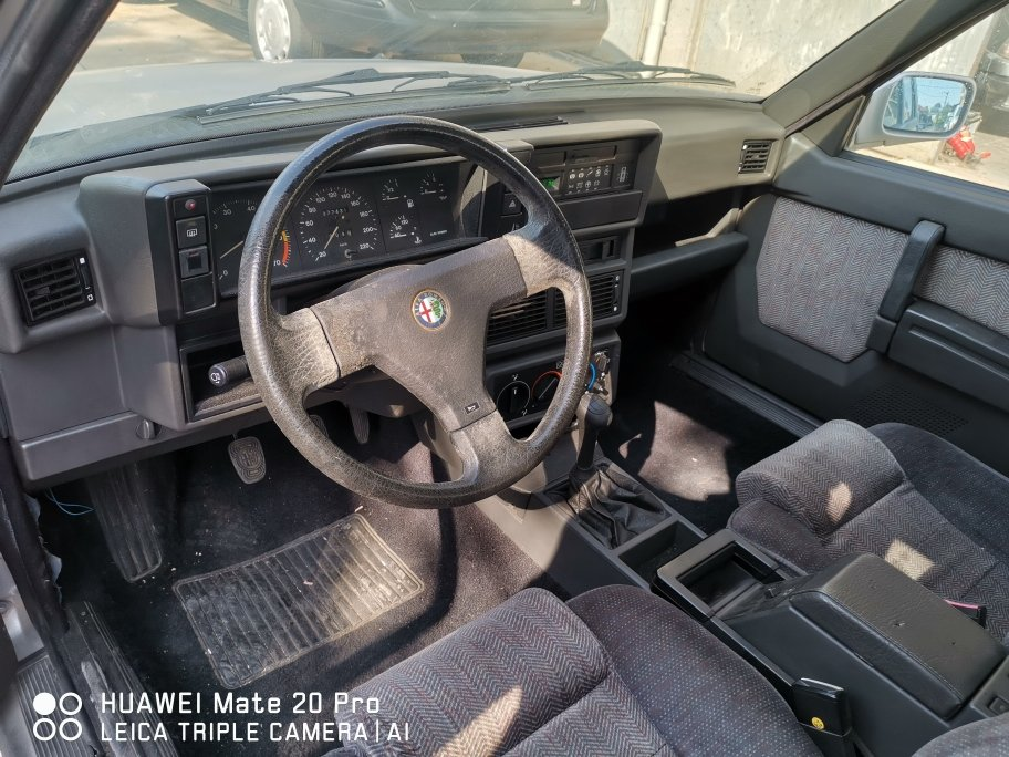 1992 CONSERVED ALFA 75 1600 CAT For Sale (picture 6 of 6)