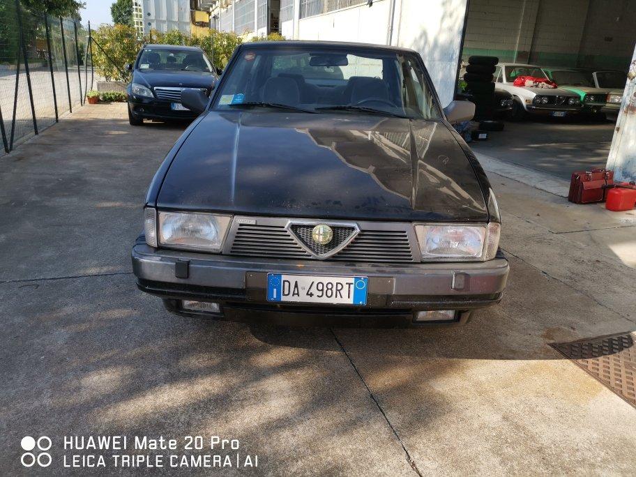 1988 ALFA 75 30V6 AMERICA For Sale (picture 1 of 6)