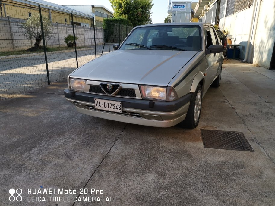 1989 ALFA 75 TWIN SPARK For Sale (picture 1 of 6)