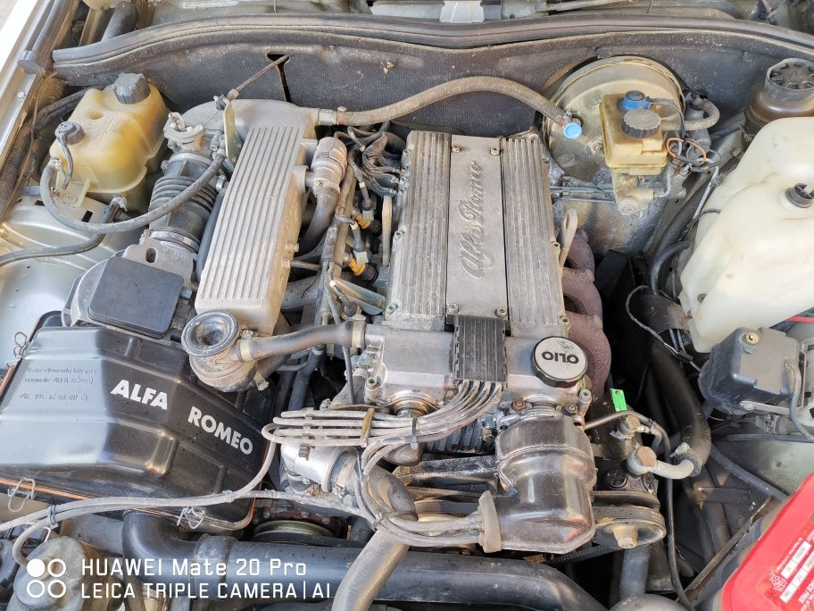 1989 ALFA 75 TWIN SPARK For Sale (picture 2 of 6)