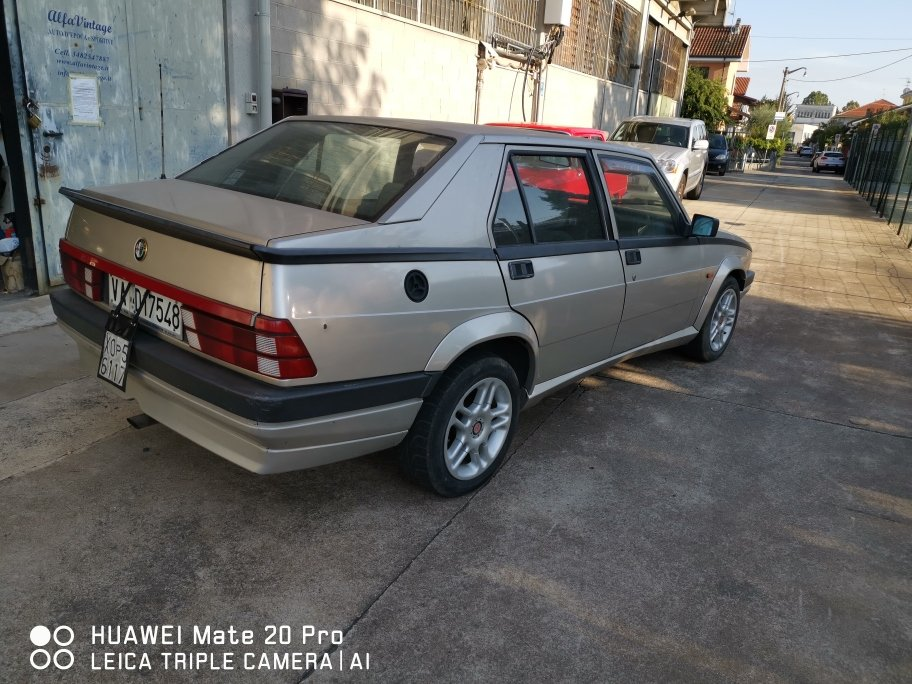 1989 ALFA 75 TWIN SPARK For Sale (picture 4 of 6)