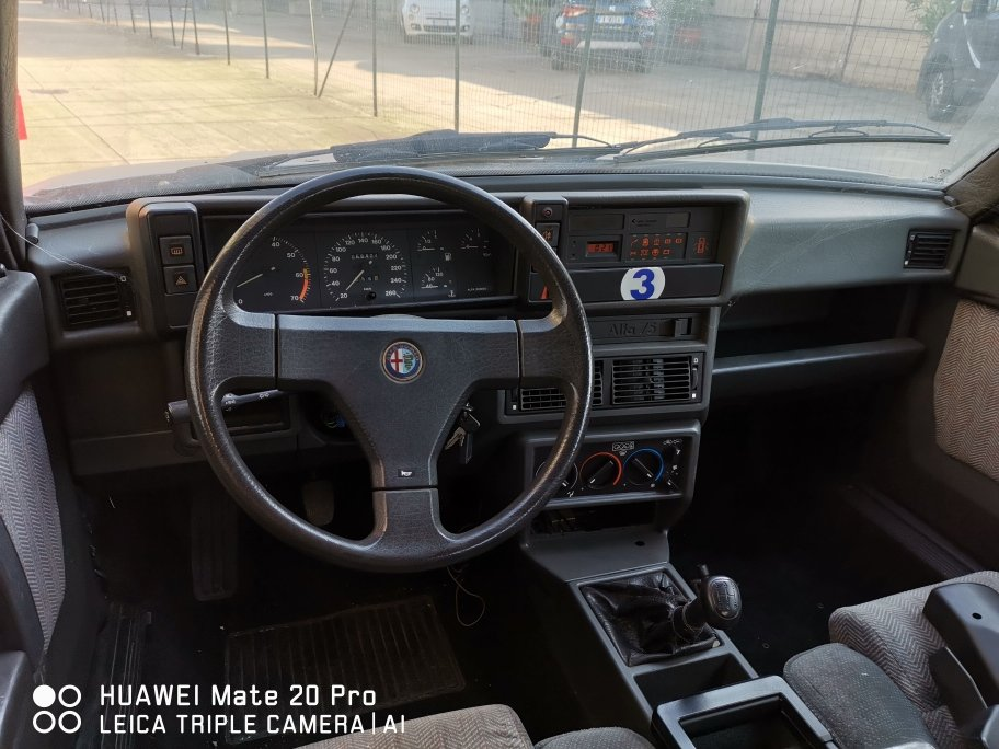 1989 ALFA 75 TWIN SPARK For Sale (picture 6 of 6)