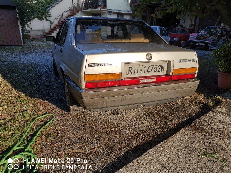 1986 RARE ALFA 90 V6 2.5 SUPER For Sale (picture 3 of 6)