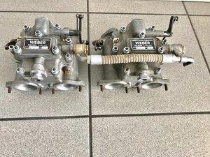Carburetors Weber 40DCO3 restored For Sale