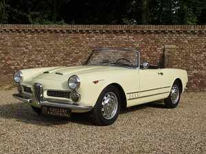 1960 Alfa Romeo 2000 Touring Spider restored condition, well docu