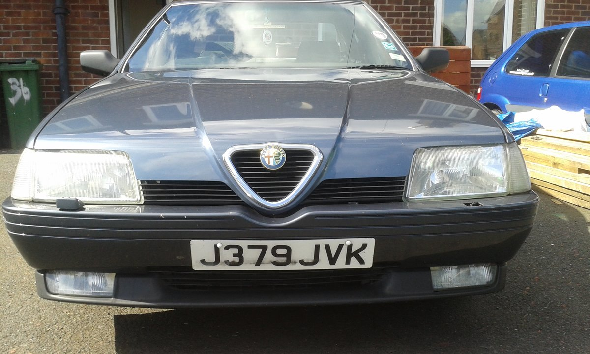 1992 Alfa Romeo 164 clean no rust it's a class car! For Sale (picture 1 of 2)