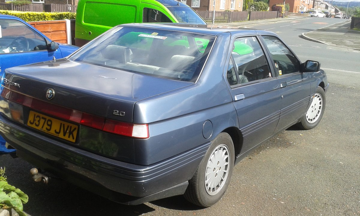 1992 Alfa Romeo 164 clean no rust it's a class car! For Sale (picture 2 of 2)