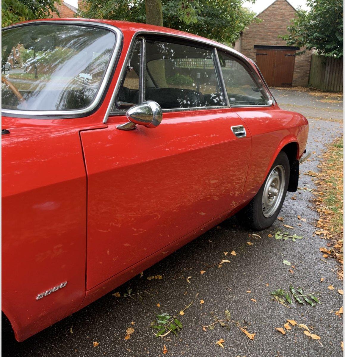 1973 Alfa Romeo 2000 GTV Bertone SOLD