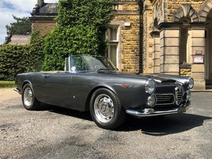1963 Alfa Romeo 2600 Spider by Touring