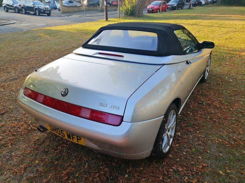 2005 Alfa Romeo Spider Lusso For Sale (picture 3 of 6)