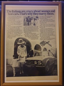 1969 Original  Alfa Romeo 1750 Advert