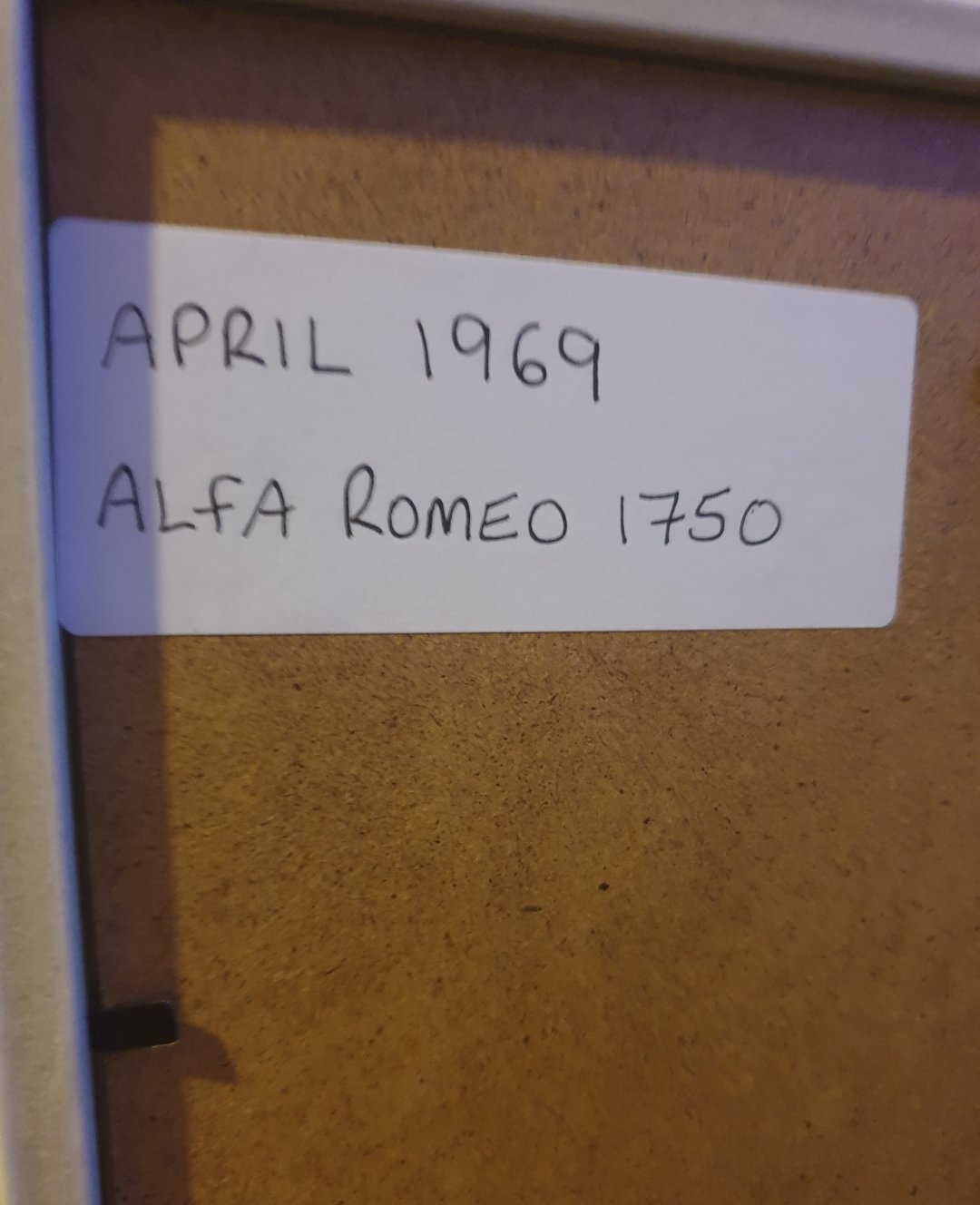 Original 1969 Alfa Romeo 1750 Advert For Sale (picture 2 of 2)