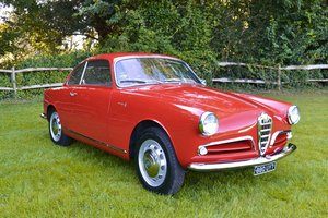 1955 Alfa Romeo Giulietta Sprint 750 Series 1 For Sale
