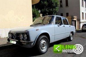 Alfa Romeo Giulia Nuova Super 1300 del 1976 For Sale