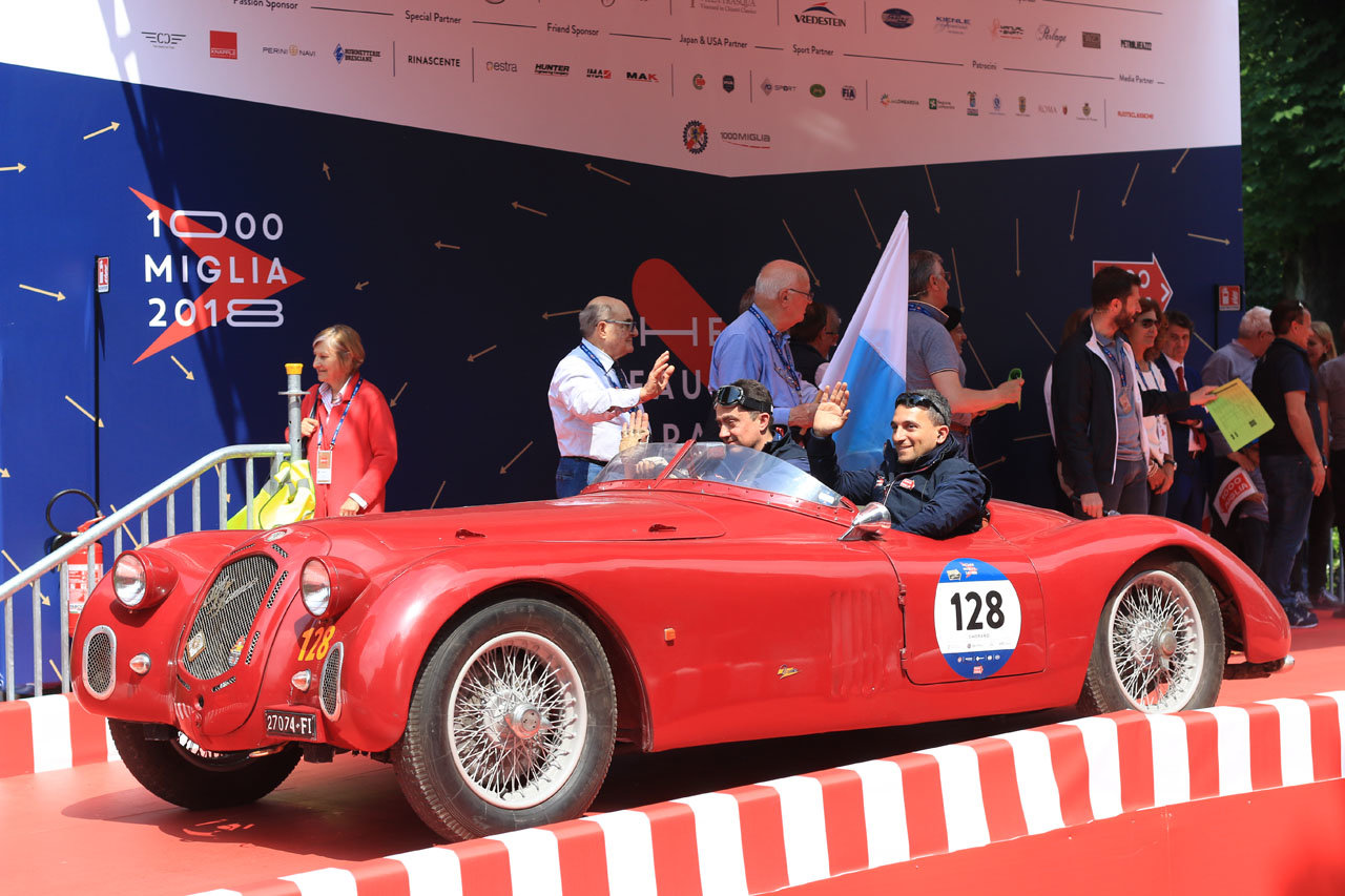 1939  Alfa Romeo 2500 SS 6C ready Mille Miglia For Sale (picture 1 of 6)