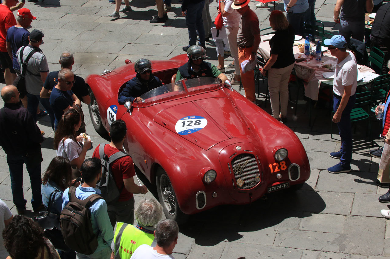 1939  Alfa Romeo 2500 SS 6C ready Mille Miglia For Sale (picture 4 of 6)
