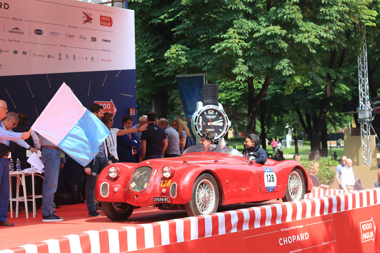 1939  Alfa Romeo 2500 SS 6C ready Mille Miglia For Sale (picture 6 of 6)