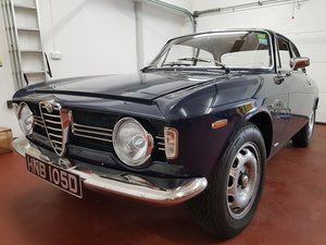 1967 Alfa Romeo Giulia Sprint GTV 105 Step Nose SOLD