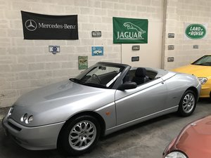 2000 (W) Alfa Spider 2.0 T.S Lusso 1 Previous Owner For Sale