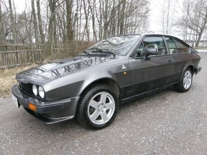 1984 Alfetta GTV 6 For Sale