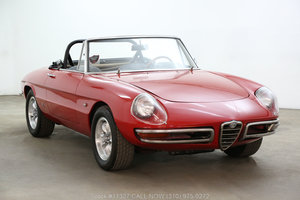 1966 Alfa Romeo Giulia Spider Duetto For Sale