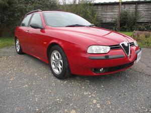2000 Alfa Romeo 156 2.6 V6 Sportwagon Q System For Sale