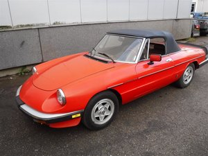 1983 Alfa Romeo 2000 spider veloce '83 For Sale