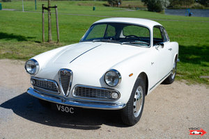 1962 Alfa Romeo Giulia 1600 Sprint - extensive restoration