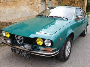 1976 Alfa Romeo Alfetta GT 1.6 LHD at ACA 2nd November  For Sale
