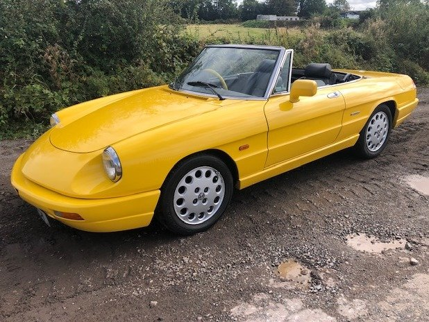 1991 Alfa Romeo 2.0 Spider S4 at ACA 2nd November  For Sale (picture 1 of 6)