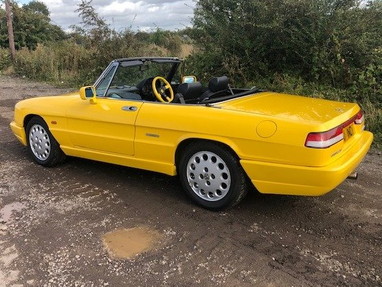 1991 Alfa Romeo 2.0 Spider S4 at ACA 2nd November  For Sale (picture 2 of 6)