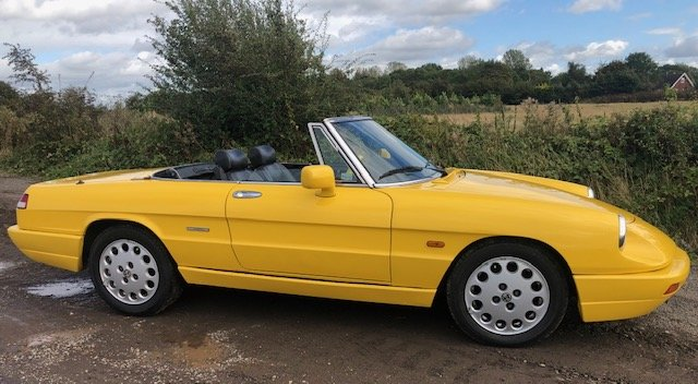 1991 Alfa Romeo 2.0 Spider S4 at ACA 2nd November  For Sale (picture 3 of 6)
