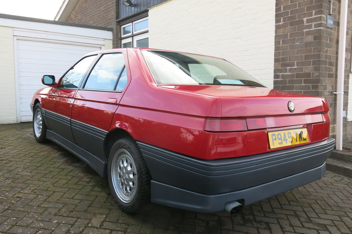 1996 Alfa Romeo 164 Cloverleaf 24V For Sale (picture 2 of 6)