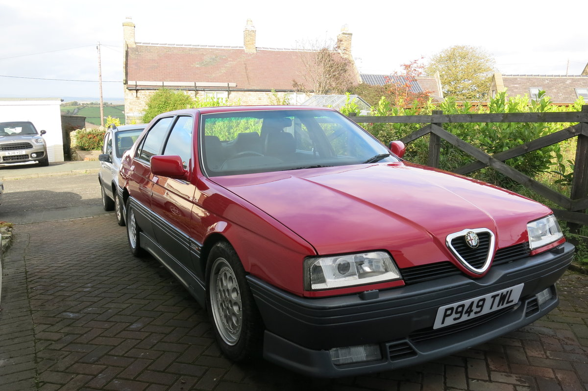 1996 Alfa Romeo 164 Cloverleaf 24V For Sale (picture 3 of 6)