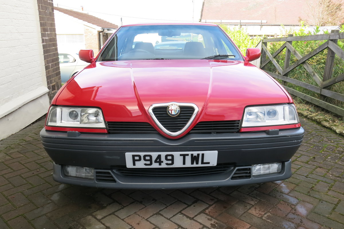 1996 Alfa Romeo 164 Cloverleaf 24V For Sale (picture 4 of 6)