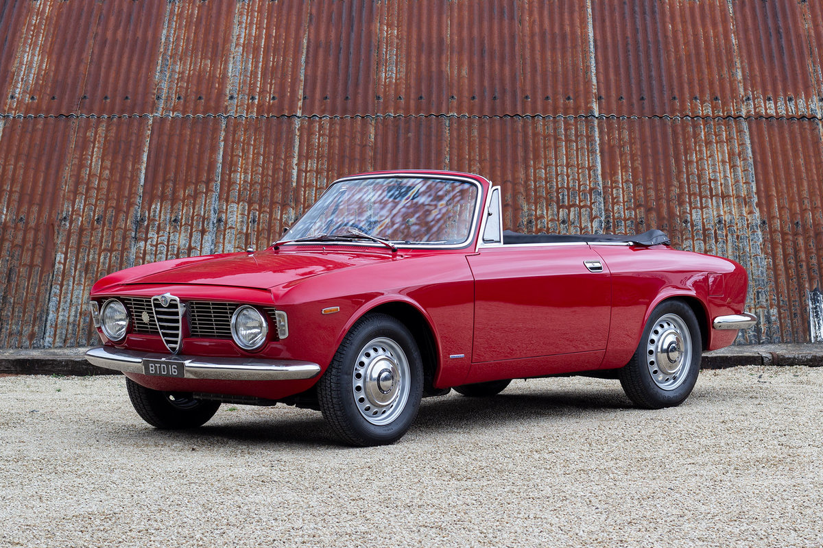 1966 Alfa Romeo Giulia GTC - 1 of 99 UK RHD examples For Sale (picture 1 of 6)