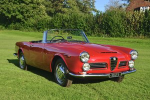 1964 Alfa Romeo 2600 Spider by Touring RHD For Sale
