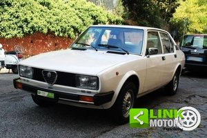 Alfa Romeo Alfetta 2.0 del 1978, Iscritta ASI, Appena tagli