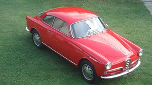 1956 Alfa Romeo Giulietta Sprint Mille Miglia Eligible