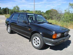 1981 Alfa Romeo Giulietta 1.8 RHD 4 door For Sale