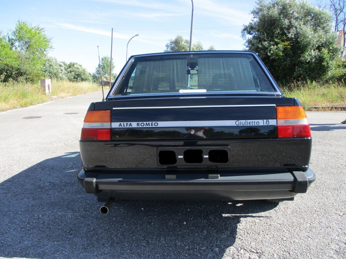 1981 Alfa Romeo Giulietta 1.8 RHD 4 door For Sale (picture 3 of 6)