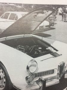 Alfa Romeo 2000 Spider Touring 1960