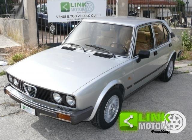 1983 Alfa Romeo Alfetta 2.0i Quadrifoglio ORO For Sale (picture 1 of 6)