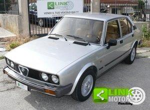 1983 Alfa Romeo Alfetta 2.0i Quadrifoglio ORO