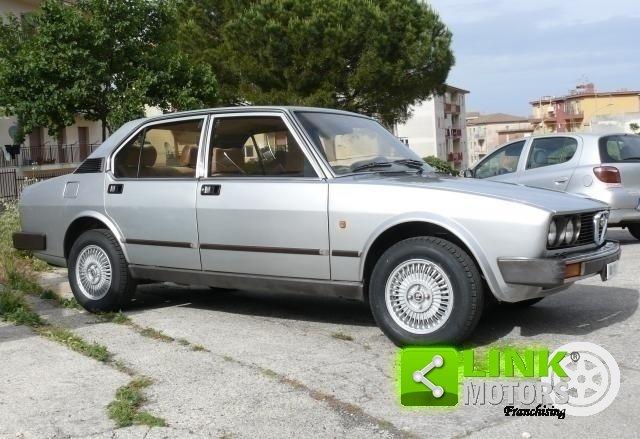 1983 Alfa Romeo Alfetta 2.0i Quadrifoglio ORO For Sale (picture 3 of 6)
