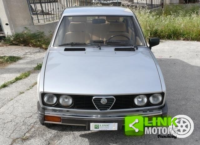 1983 Alfa Romeo Alfetta 2.0i Quadrifoglio ORO For Sale (picture 5 of 6)
