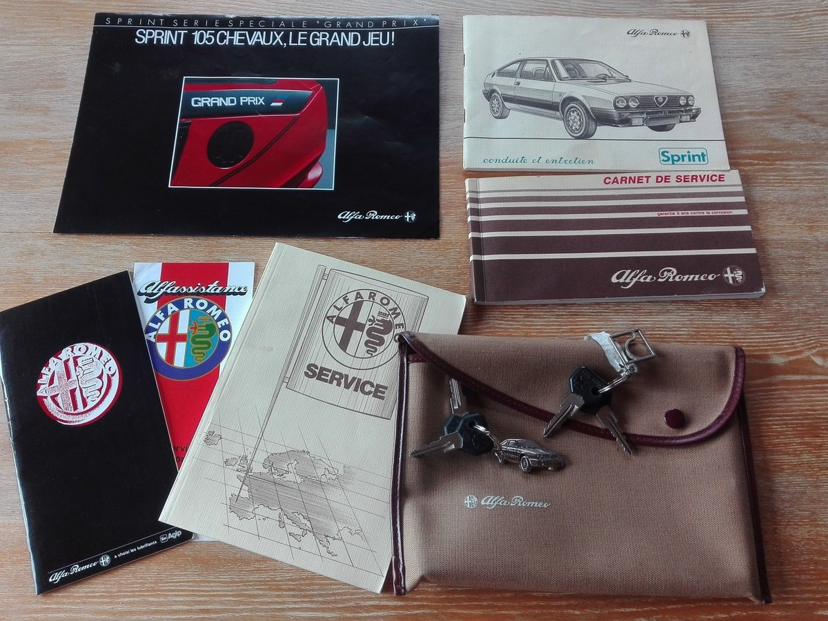 1987 SPRINT GRAND PRIX Limited edition Rare 1 owner  For Sale (picture 6 of 6)